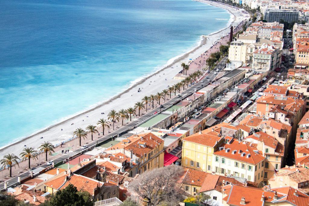 Küstenorte Nizza, Côte d'Azur
