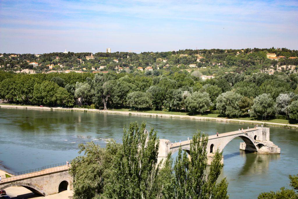 Brücke Le Pont d'Avignon, Pont Saint-Bénézet
